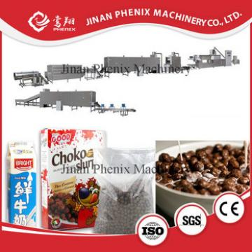 Automatic twin screw breakfast cereal making equipment