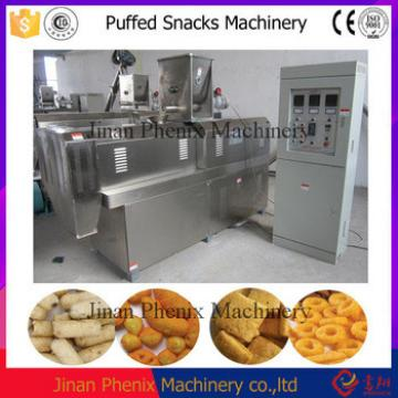Puffed Corn Cereals Snacks Food Making Machine