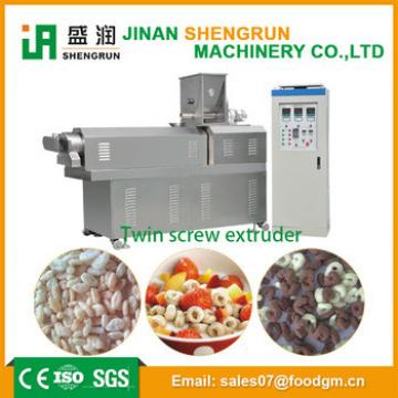 Stainless steel breakfast cereals food machine