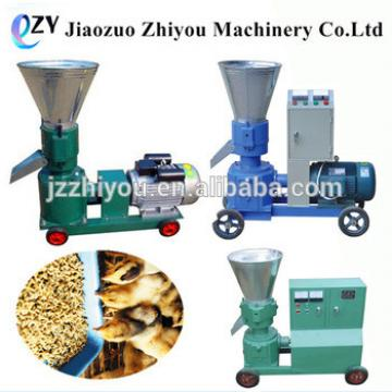 manual flat die portable homemade wood pellet mill animal feed pellet making machine