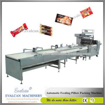 Granola bar packing horizontal flow pack machine