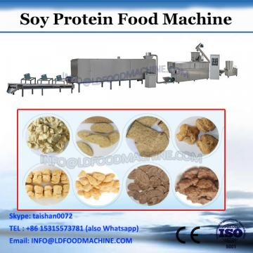 2017 soy meat protein making machine soy protein chunks extrusion equipment