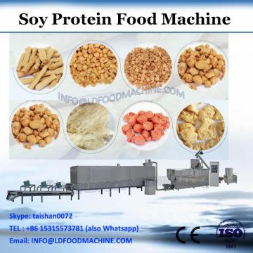 High moisture dry defatted soybean texturized TVP TSP soy protein snacks food products making extruder machine produce equipment