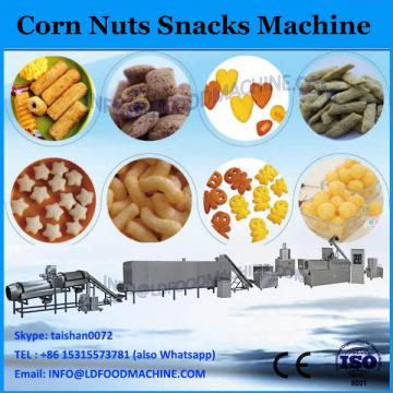 extruded corn snacks baking machine