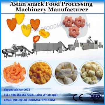 Corn puff snack food processing machine