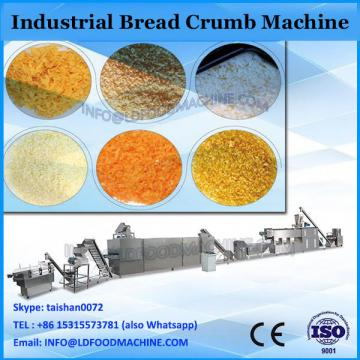 automatic yellow bread crumbs crispy panko making machinery