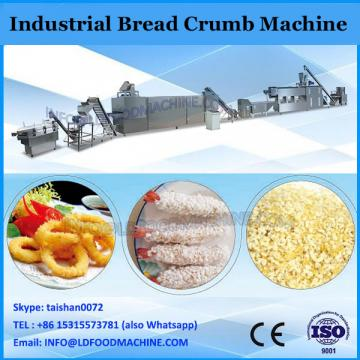 automatic dry bread crumb machine