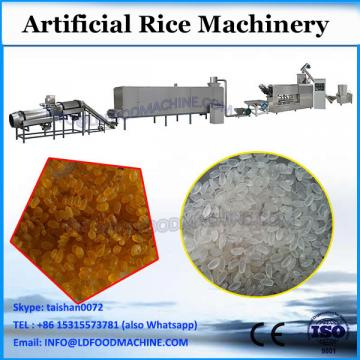 China factory white long thin rice Steam cooked reconstruction process line/Raw basmati artificial rice makes extruder machine