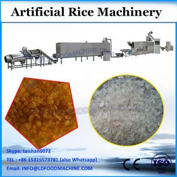 DG ersatz reinforced rice extruder maker plant system ersatz rice processing line