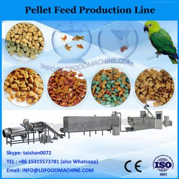 Vertical ring die chicken feed pellet production line for making pellets