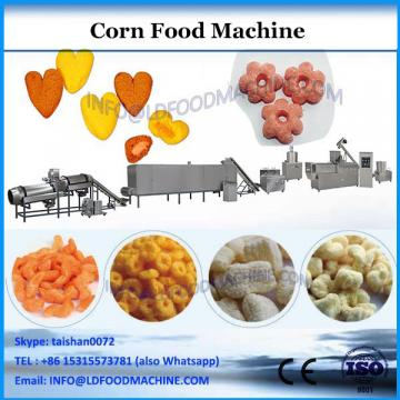 Factory hot air low fat puffed corn snacks food machine