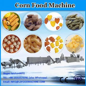 Automatic puffed popcorn snack food making machine