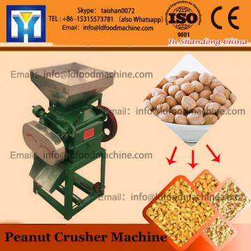 Adjustable size peanut particle crushing machine