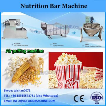 Nutrition Chocolate Coating Raisin Fruit Puffs Oat Bars Machine