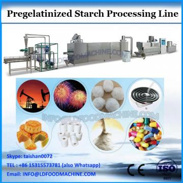 Advanced pregelatin starch process line