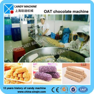 automatic small granola bar forming cutting machine