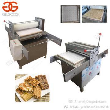 Manual Equipment Sesame Snap Production Line Peanut Chikki Candy Bar Making Machines Cereal Granola Bar Machine