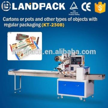 Semi automatic granola bar packaging machine, high speed popsicle filling sealing machine