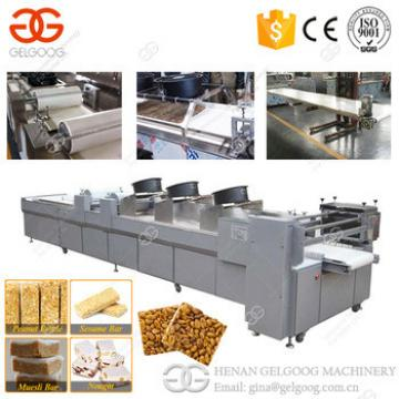 2017 Professional Stainless Steel Granola Cereal Bar Peanut Candy Making Line/Machine Price