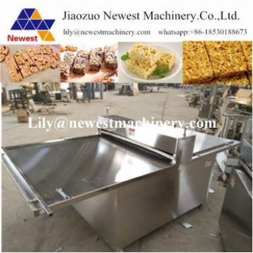 Sugar pie cake flattened machine granola bars flattening machine