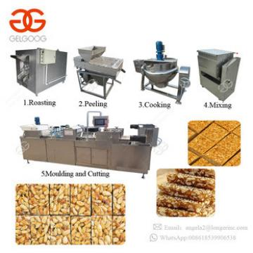 High Efficiency Granola Bar Nougat Rice Cake Making Machine Production Line Cereal Protein Bar Maker Manufacturers