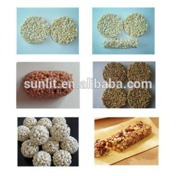 Automatic Nutritional Chewy Chocolate Snack Soya Cereal Bar Line