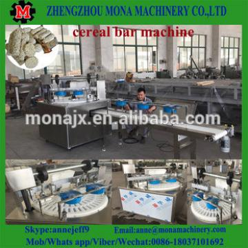 Automatic Peanut Brittle Crisp Candy / Cereal Bar Making Forming Machine Production Line