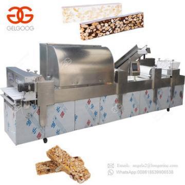 Top Selling Chikki Halwa Making Machines Protein Bar Rice Ball Making Granola Moulding Machine Wrapper Packaging
