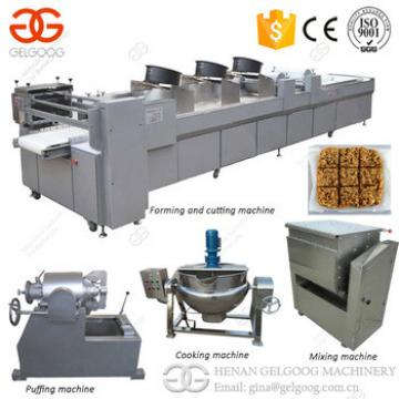 2017 Stainless Steel Hot Selling Bar Production Line Granola Sesame Peanut Crisp Candy Making Machine