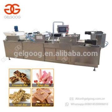 Hot Sale Protein Cereal Energy Bar Production Line Chikki Muesli Nut Brittle Making Sesame Snap Peanut Candy Making Machine