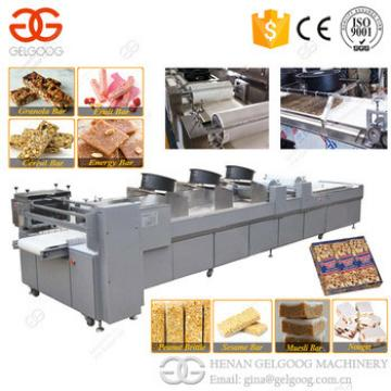 2017 Hot Selling Nougat Machine Granola Cereal Bar Sesame Peanut Candy Machinery Line