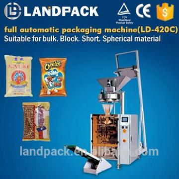 Full Automatic Breakfast Cereal Packing Machine With 2 Head Weigher