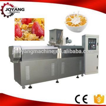 High quality breakfast cereals corn flakes extruder machine