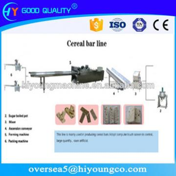 3-4T/D cereal candy/peanut candy,peanut chikki ,energy bar production line