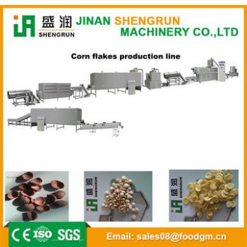 Automatic Breakfast Cereal Puffing Snack Extrusion Machine