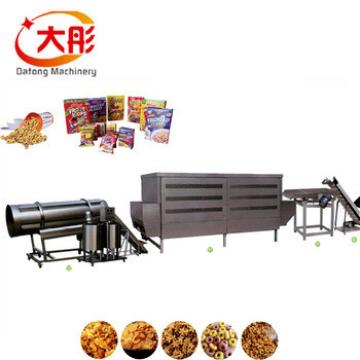 Toast corn flakes twin screw extruder making machine