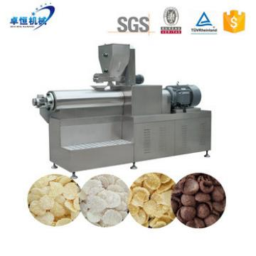 Big Capacity Breakfast Cereal Corn flakes Production Line Extruder Machinery