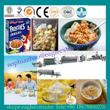 Breakfast cereal/corn flakes production line/corn flakes making machinery