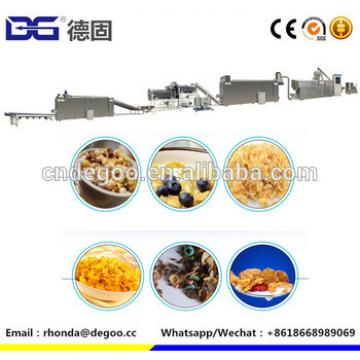 Popular breakfast cereal production machine corn pops processing line