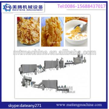 china manuacturing breakfast cereal corn flakes machine
