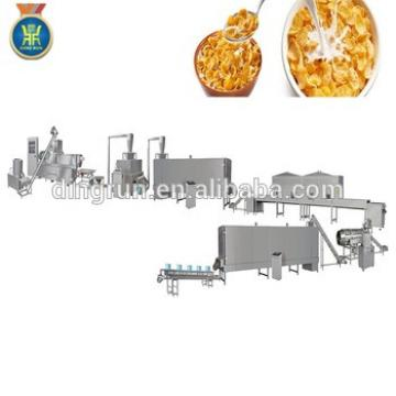 breakfast cereal puffed snacks food production line