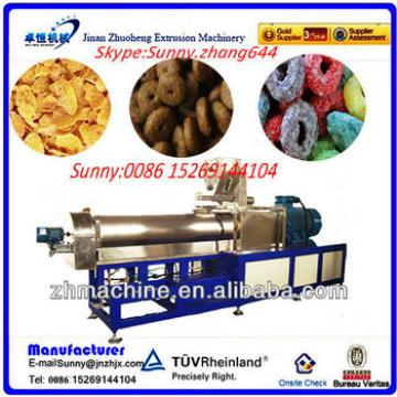 Jinan Zhuoheng toasting breakfast cornflakes machinery