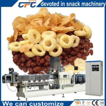 Industrial Frosted Cereals Snacks Food Machine