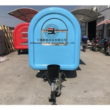 mobile potato chips making machine selling food trailer