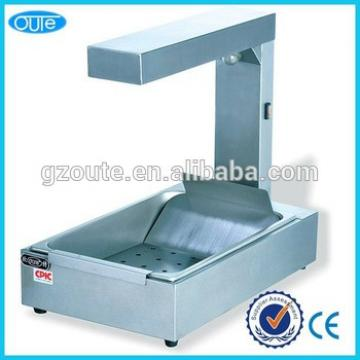 Stainless Steel Counter Top Chips Warmer Making Machine Worker(OT-310)