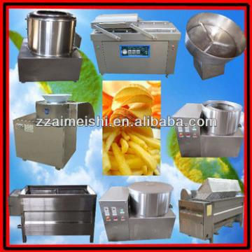 small scale french fries making machine/potato chips stick making line/0086-13838347135