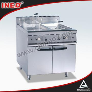 Stainless Steel 2 Tanks 2 Baksets French Fried Potatoes Machine/Fried Potato Chips Making Machine