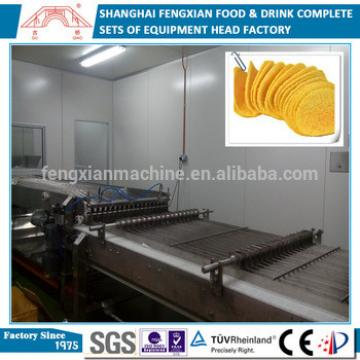 2016 Hot Sale Full Automatic Complete Factory Potato Chips Making Machine
