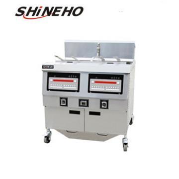 P020 fresh potato chips making machine/broaster chicken fryer/automatic potato chips making machine price