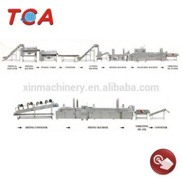 Full Automatic Potato Chips Making Machine/processing line/production line/machine/plant